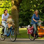 Amsterdam with kids - Cycling