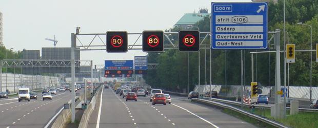 Amsterdam by car