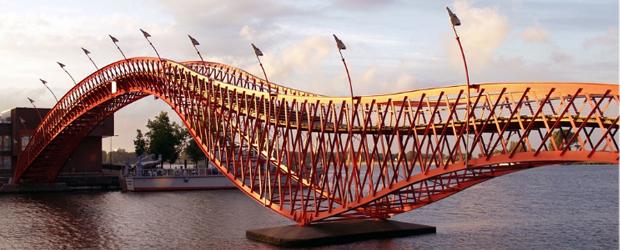 Pyhton Bridge - Oostelijk Havengebied Amsterdam