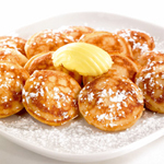 Dutch food - poffertjes