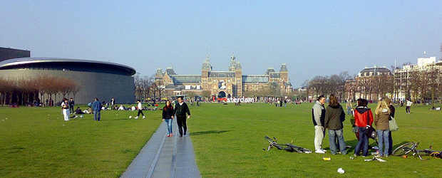 Museum Quarter area - Amsterdam