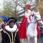 Sinterklaas arrival - November in Amsterdam